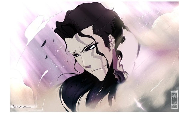 Picture look, face, Bleach, Bleach, black hair, Aizen Sousuke, by Tite Kubo