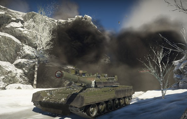 Picture Tank, War Thunder, T-80 HAVE