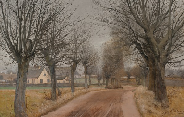 Picture Zealand, Zealand, Danish painter, 1898, Laurits Andersen Ring, Lauritz Andersen Ring, Danish painter, Statens Museum …