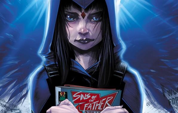 Picture Comic, Hood, DC Comics, Blue eyes, Hood, Blue eyes, Comics, Crystal, Raven, Journal, Raven, Journal, …