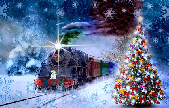 Picture fantasy, the theme, Christmas