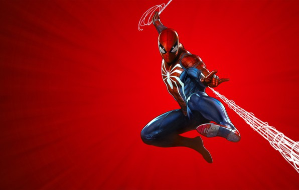 Picture The game, Hero, Mask, Superhero, Sony, Web, Marvel, Spider-man, Game, Comics, Spider-Man, Mask, Marvel, PlayStation …