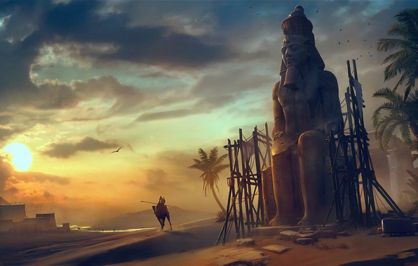 Picture Assassin's Creed Origins, Vladimir Manyukhin, The light of the God RA, The light of the …