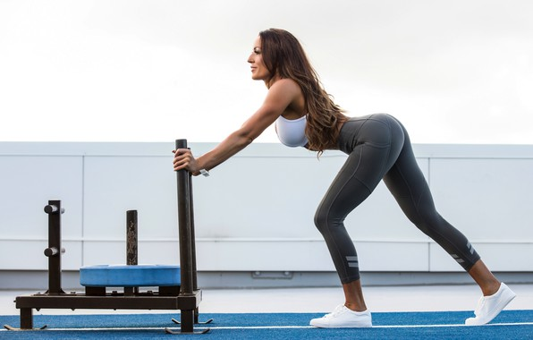 Picture girl, power, energy, exercise, sports, workout, fitness, yoga, health, crossfit, pilates, activewear