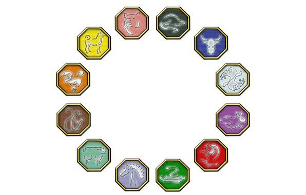 Picture tiger, dragon, horse, snake, dog, rabbit, monkey, pig, power, rat, zodiac, cock, bull, sheep, mascots, …