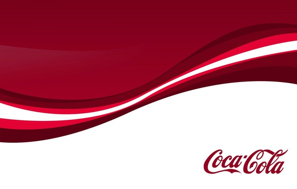 Picture Red, Minimalism, Background, Abstraction, Coca Cola, Cola