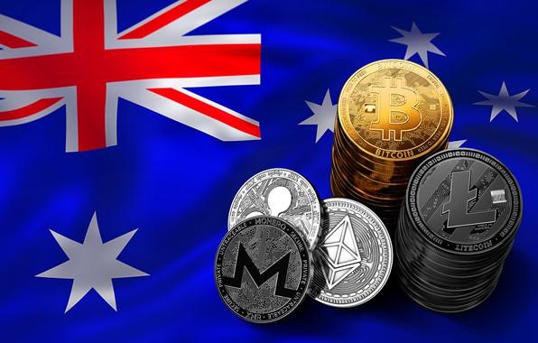 Picture stars, flag, Australia, stars, flag, australia, bitcoin, ripple, eth, xmr, btc, xrp, litecoin, ltc, monero, …