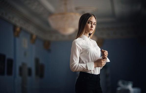 Picture style, girl, blouse, Sergey Piltnik