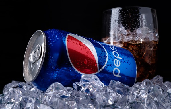 Picture ice, drops, glass, Bank, ice, drink, cola, pepsi, Cola, drink, soda, carbonated drink, Pepsi, pepsi-cola, …