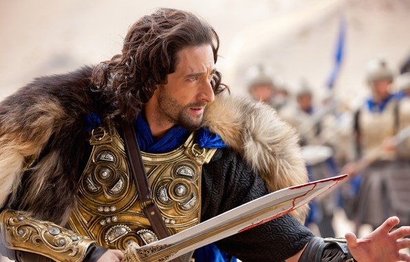 Picture look, pose, sword, armor, Adrien Brody, Dragon sword, Dragon Blade, Adrien Brody, Tiberius