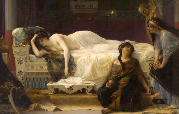 Picture picture, Alexander Cabanel, Alexandre Cabanel, mythology, Phaedra