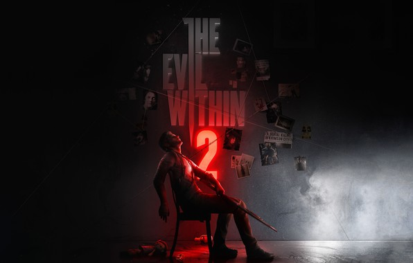 Picture Photo, Weapons, Chair, Bethesda Softworks, Horror, Character, Tango Gameworks, Sebastian Castellanos, the Evil Within 2
