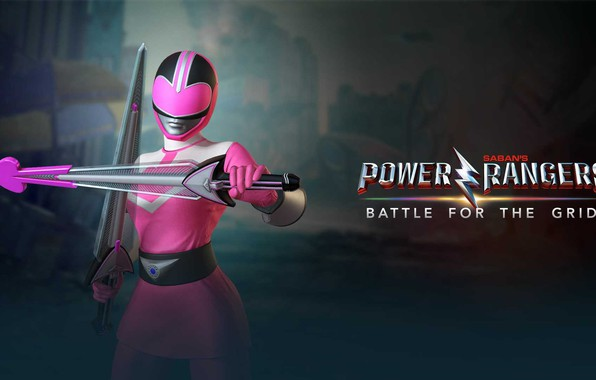 Picture game, weapon, pink, warrior, swords, Power Rangers, Jen Scotts, Time Force, nWay, Power Rangers: Battle …