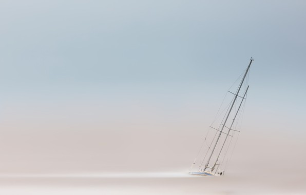Picture Clouds, Yacht, Sea, Boat, Estuary