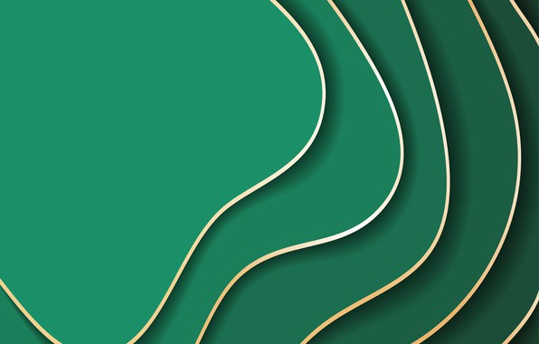 Picture abstraction, green, background, background