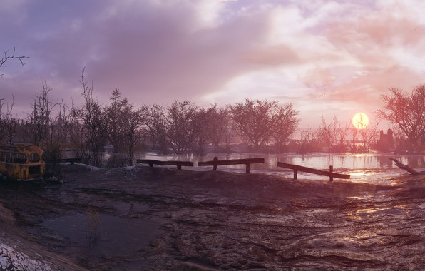 Picture landscape, the game, Metro: Exodus