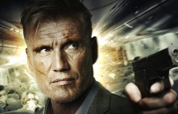 Picture look, weapons, Dolph Lundgren, Dolph Lundgren, Icarus, Killing machine
