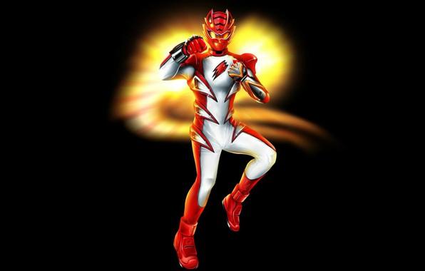 Picture costume, black background, jungle, master, Power Rangers, mod, Red Ranger, master mod