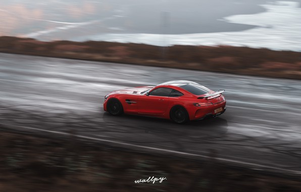 Picture Mercedes-Benz, Microsoft, AMG, GT R, Forza Horizon 4, by Wallpy