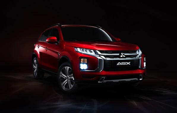 Picture Red, Mitsubishi, ASX, Crossover, 2019