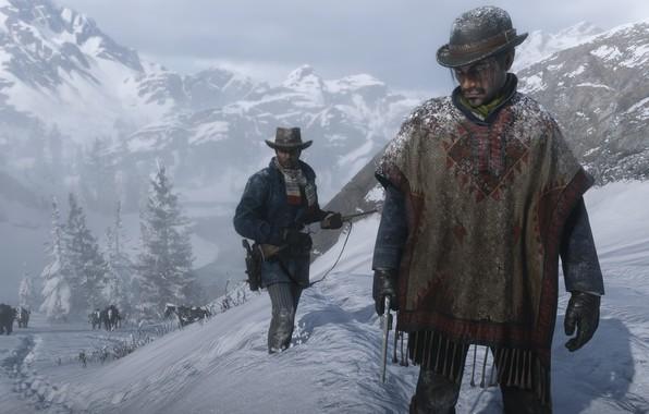 Picture Game, Rockstar Games, Red Dead Redemption 2, Gang, RDR, Red Dead Redemption 2 PC