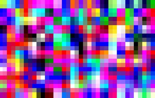 Picture matrix, digital, grid, yellow, blue, square, pixel, squares, bright, graphic, vivid, array, check, vibrent, checkerd, …