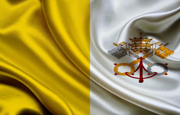 Picture flag, coat of arms, fon, flag, vatican, the Vatican, coat of arms