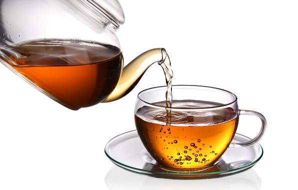 Picture tea, kettle, Cup