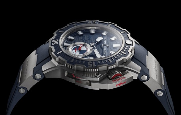 Picture Watch, Ulysse Nardin, Hammerhead shark, Diver Deep Dive