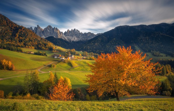 Picture autumn, landscape, beauty