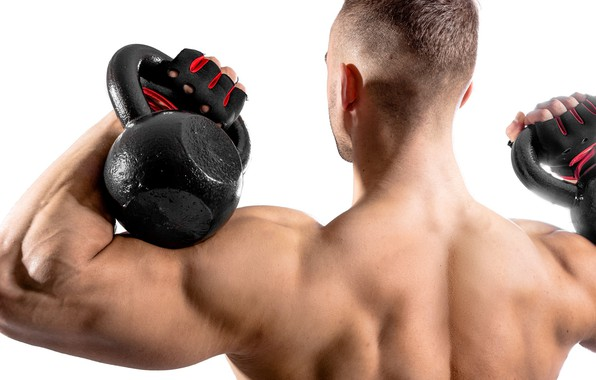 Picture back, gloves, fitness, muscle, muscle, weight, training, athlete, biceps, workout, workout, fitness, bodybuilder, training, weight, …