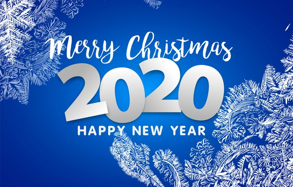 Picture background, patterns, Christmas, New year, 2020