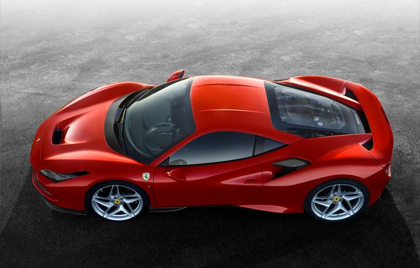 Picture machine, Ferrari, sports car, drives, F8 Tribute