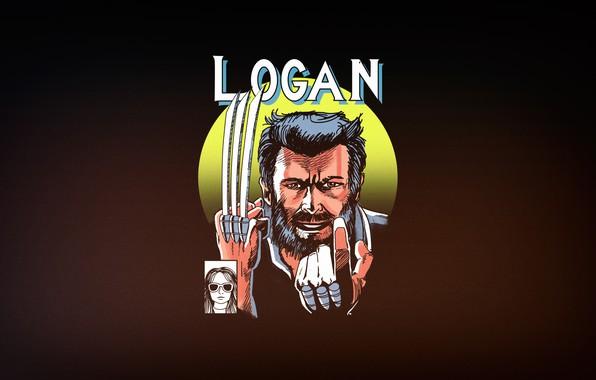 Picture Minimalism, Figure, Background, Logan, Art, Logan, X-23, Old Man, by Vincenttrinidad, Vincenttrinidad, by Vincent Trinidad, …