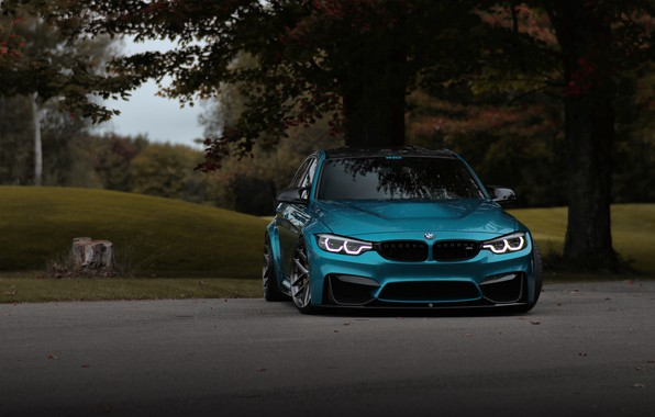 Picture BMW, Light, Blue, Evening, F80, Sight
