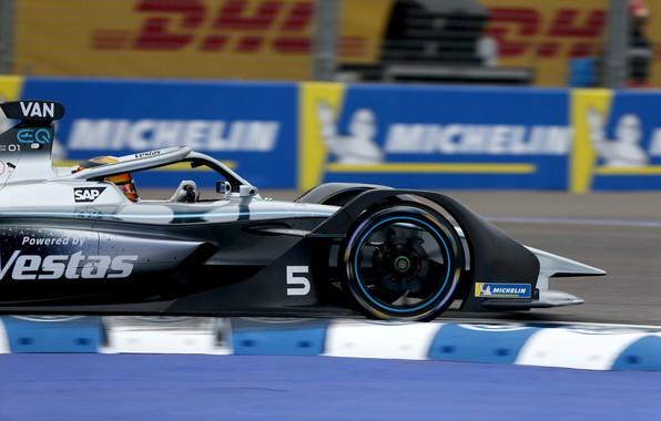 Picture Motorsport, Mercedes - Benz, racing car, Morocco, Morocco, Marrakech, Formula E, Formula E, 2020, Stoffel …