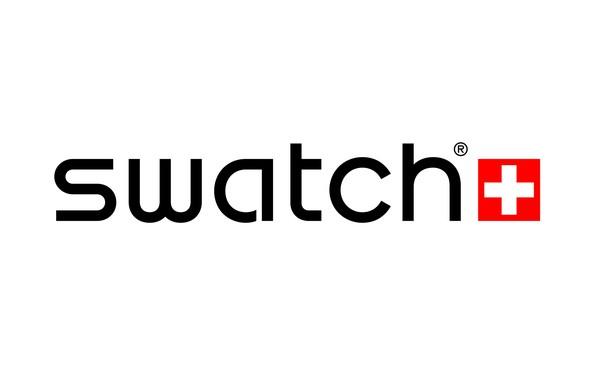 Picture white, logo, red, white, fon, switzerland, swatch, Swatch