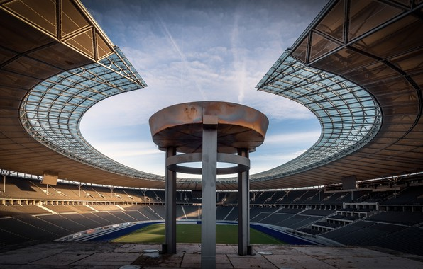 Picture stadium, architecture, Berlin Olympic