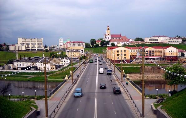 Picture bridge, Belarus, Grodno