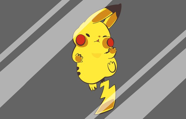 Picture glass, mouse, tail, glass, Pikachu, electric, pokemon, pokemon, Pikachu, mouse, crashed