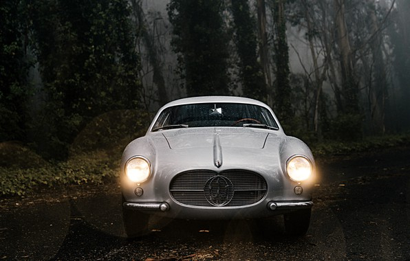 Picture Forest, Classic, Car, 1956, Maserati A6G 2000 Berlinetta
