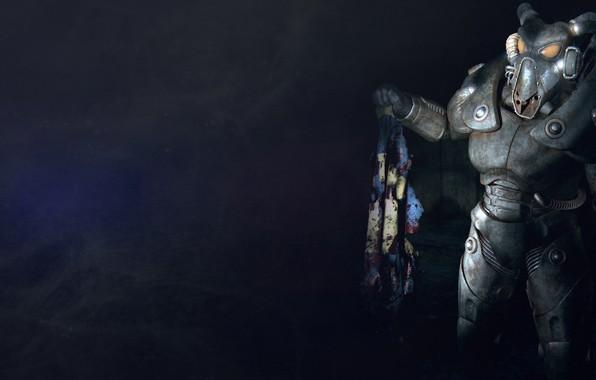 Wallpaper Postapokalipsis Fallout Enclave Powered Armor Asylum 2 Vault Tec The Brotherhood Of Steel X 01 Images For Desktop