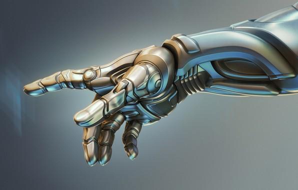 Picture mechanism, robot, hand, cyborg