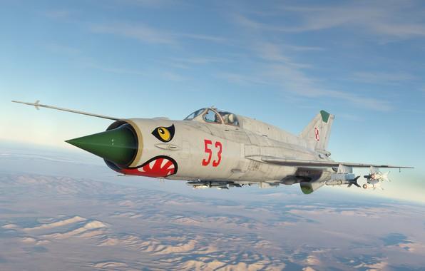 Picture Poland, KB MiG, MiG-21bis, Frontline fighter