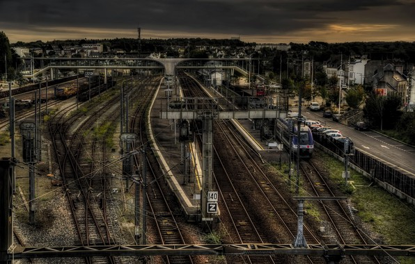 Picture the city, France, station, Morlaix