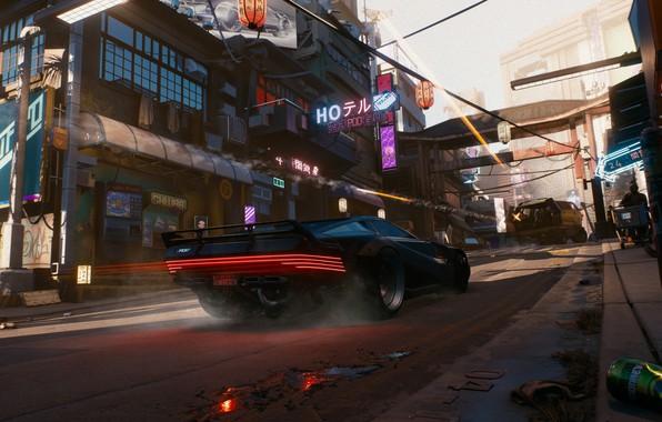 Picture Car, Future, CD Projekt RED, Cyberpunk 2077, E3 2018