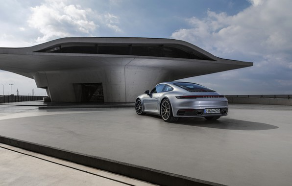 Picture coupe, 911, Porsche, Playground, Carrera 4S, 992, 2019