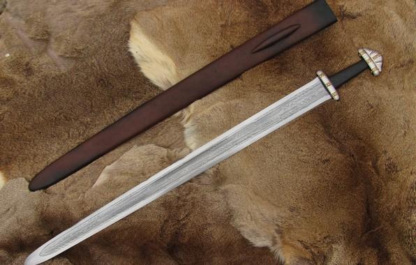 Picture Sword, Sheath, Skin, A Carolingian, Dmitry Khramtsov, Sword of Steinsvik