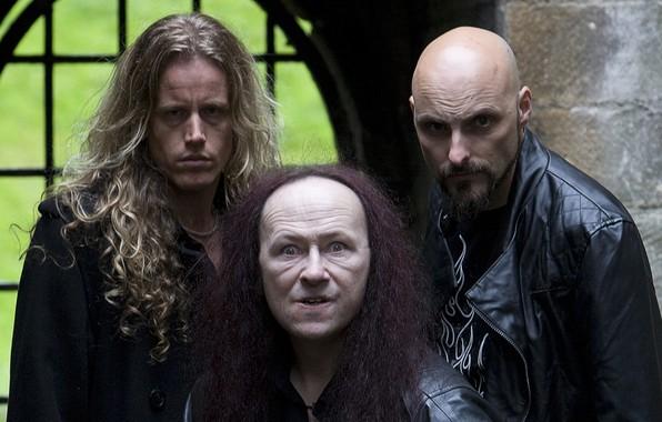 Picture metal, black, Dante, band, Venom, Cronos, La Rage, Danny Needham, Conrad Lant, Stuart Dixon