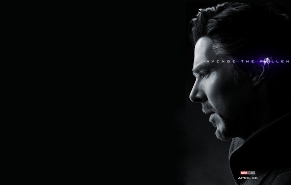 Picture Doctor Strange, Avengers: Endgame, Avengers Finale, Terpily Thanos, Ashes after clicking
